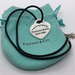 Tiffany & Co Porcelain Return to Tiffany Pendant